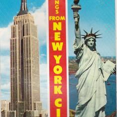 bnk cp USA - New York - carte postala - uzata