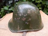 Casca militara romaneasca, model olandez, WW2