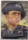 Bnk cp Germania - Carte postala de propaganda - circulata 1941