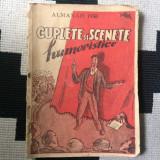 Cuplete si scenete humoristice almanah 1950 carte hobby ilustrat desene, Alta editura