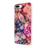 Husa Silicon, Ultra Slim 0.3MM, Floral, Apple iPhone 7 Plus / 8 Plus