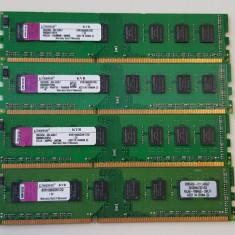 8GB DDR3 Kingston 1066 memorii RAM de calculator PC3-8500 - Memorie RAM Kingston, 1066 mhz, Dual channel