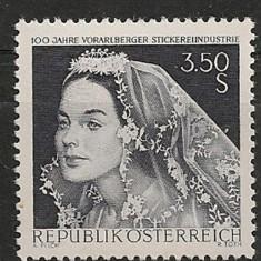 Austria 1968 - COSTUME POPULARE, timbru MNH B1