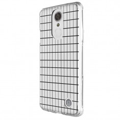 Husa Silicon, Ultra Slim 0.3MM, Grid, LG K4
