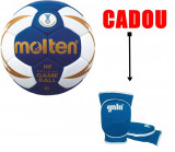 Minge de handbal Molten H2X5000, oficiala IHF + genunchiere Gala