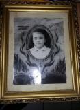 FOTOGRAFIE VECHE,Tablou cu rama,fotografie inramata veche,Transport GRATUIT