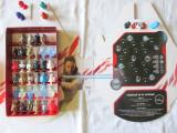 Colectie completa Mega Popz STAR WARS + ochelari + zar si 6 figurine pt. joc