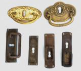 Lot silduri si manere vechi de epoca pentru reconditionare mobila