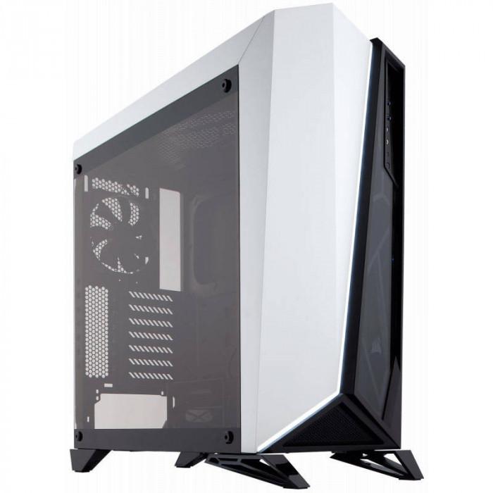 Carcasa Corsair Carbide Series Spec-Omega Black White foto mare