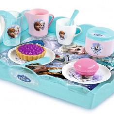 Set de ceai Frozen cu tavita - Smoby