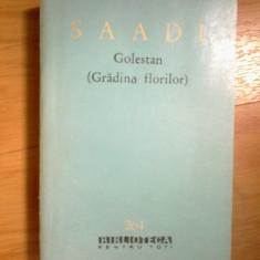 n6 Golestan (gradina Florilor) - Saadi