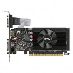 Placa video MSI nVidia GeForce GT 710 2GB DDR3 64bit low profile - Placa video PC