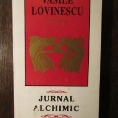 JURNAL ALCHIMIC - VASILE LOVINESCU - Carte Filosofie