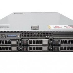 Server DELL PowerEdge R710, Rackabil 2U, 2 Procesoare Intel Quad Core Xeon E5640 2.66 GHz, 32 GB DDR3 ECC Reg, 6 bay-uri de 3.5inch, Raid Controller