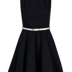 Rochie clos bleumarin cu buline Closet - Rochie de zi
