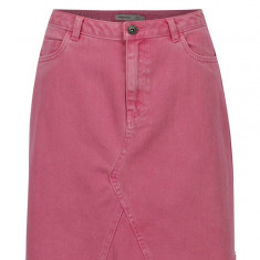 Fusta roz din denim cu buzunare - VERO MODA Carolyn, Vero Moda