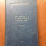Clasificarea internationala a bolilor vol 1 1969 RSR carte stiinta medicina, Alta editura