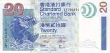 Bancnota Hong Kong (Standard Chartered) 20 Dolari 2003 - P291 UNC