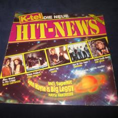 Various - Hit News _ vinyl,LP _ compilatie _ K-tel(Elvetia,1982)_pop rock,disco, VINIL