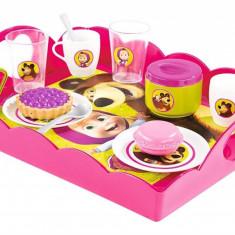 Set de ceai Masha cu tavita - Smoby