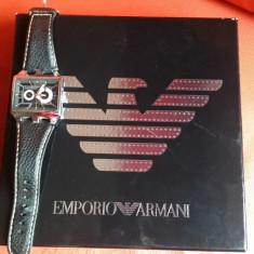 Ceas Emporio Armani barbatesc,mecanism automat., Casual, Mecanic-Automatic, Inox