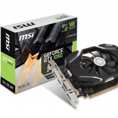Placa video MSI NVIDIA, GeForce GTX 1060 3G OC, PCI Express x16 3.0, 3GB GDDR5, 192bit, Boost/Base Core Clock 1759 MHz/1544 MHz, 8008MHz, bulk - Placa video PC