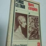 PLINIUS CEL TANAR - OPERE COMPLETE