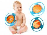 Bol Rotativ Care Nu Se Rastoarna Pentru Hranire Copii Gyro Bowl, Castroane