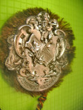 Insigna veche Liederhort Adelshofen-Cor Muzica anii 1900 Lieder al Lumii muzicii
