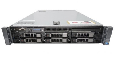 Server DELL PowerEdge R710, Rackabil 2U, 2 Procesoare Intel Quad Core Xeon E5640 2.66 GHz, 32 GB DDR3 ECC Reg, 4 x 300 GB HDD SAS, Raid Controller foto