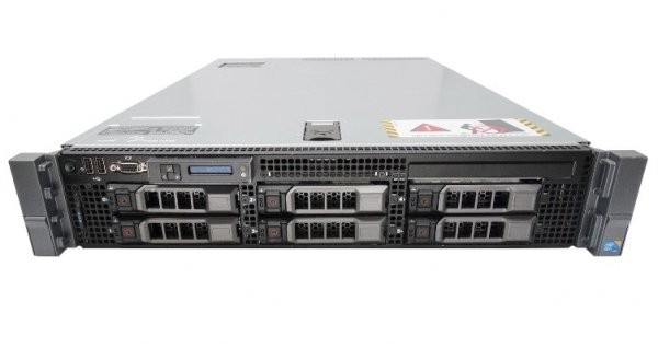 Server DELL PowerEdge R710, Rackabil 2U, 2 Procesoare Intel Quad Core Xeon E5640 2.66 GHz, 32 GB DDR3 ECC Reg, 4 x 300 GB HDD SAS, Raid Controller