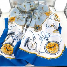 ROLEX BLUE SAPPHIRE COLLECTION EDITIE LIMITATA ESARFA VINTAGE  90/90 CM