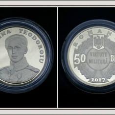 50 bani 2017 Ecaterina Moneda rara Romania! - Moneda Romania