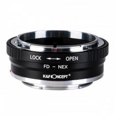 Kent Faith FD-NEX II adaptor montura Canon FD la Sony E-Mount (NEX) KF06.306