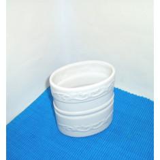 Vaza arta ceramica de studio, emailata si modelata manual - fara marcaj