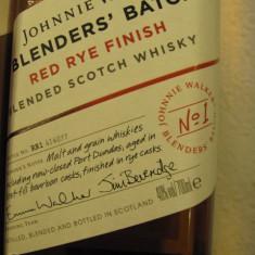 WHISKY JOHNNIE WALKER EXPERIMENTAL BLEND N. 1, RED RYE CL 70 GR 40 STICLA 4140