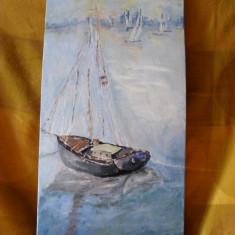 Marina 10-pictura ulei pe placaj;