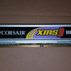 Memorie Desktop Corsair XMS3 DDR3 2 GB 1333 Mhz PC3-10600 MHz - Memorie RAM Corsair, RAM