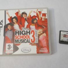 Joc consola Nintendo DS 2DS 3DS - Disney High School Musical 3 Senior Year, Actiune, Toate varstele, Single player