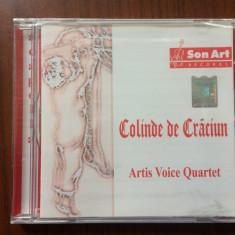 Artis Voice Quartet Colinde de Craciun cd disc muzica sarbatori son art records