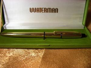 Pix placat aur 22K, Waterman, colectie, cadou, vintage