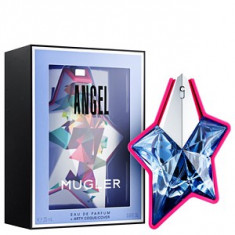 Mugler Angel Refillable EDP - Arty Cover 25 ml pentru femei, Apa de parfum