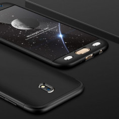 Husa Samsung Galaxy J7 2017 - GKK Protectie 360 Grade Neagra, Plastic, Carcasa