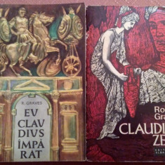 Eu, Claudius, Imparat... si Claudius Zeul. 2 Volume - Robert Graves - Roman istoric, An: 1974