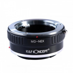 Kent Faith MD-NEX adaptor montura Minolta MD MC la Sony E-Mount (NEX)