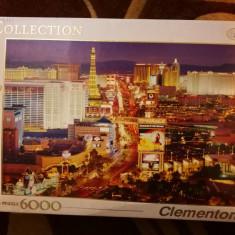 Puzzle Clementoni 6000 piese Las Vegas