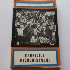 """Carte fotbal - """"Cronicile Microbistului"""" de G. Mitroi"""
