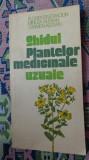 Ghidul plantelor medicinale uzuale 238pagini/ilustratii/an 1991
