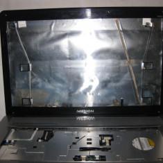 Carcasa  completa cu balamale  laptop MEDION AKOYA P7612  , stare buna