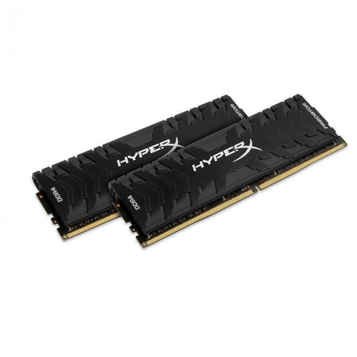 Memorie HyperX Predator 16GB DDR4 3200 MHz CL16 Dual Channel Kit foto mare